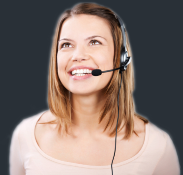 Operator Lynda ready to handle calls